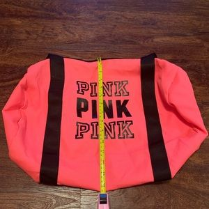 PINK Victoria's Secret Bags - 💋FUN PINK BRAND SMALL DUFFLE BAG💋